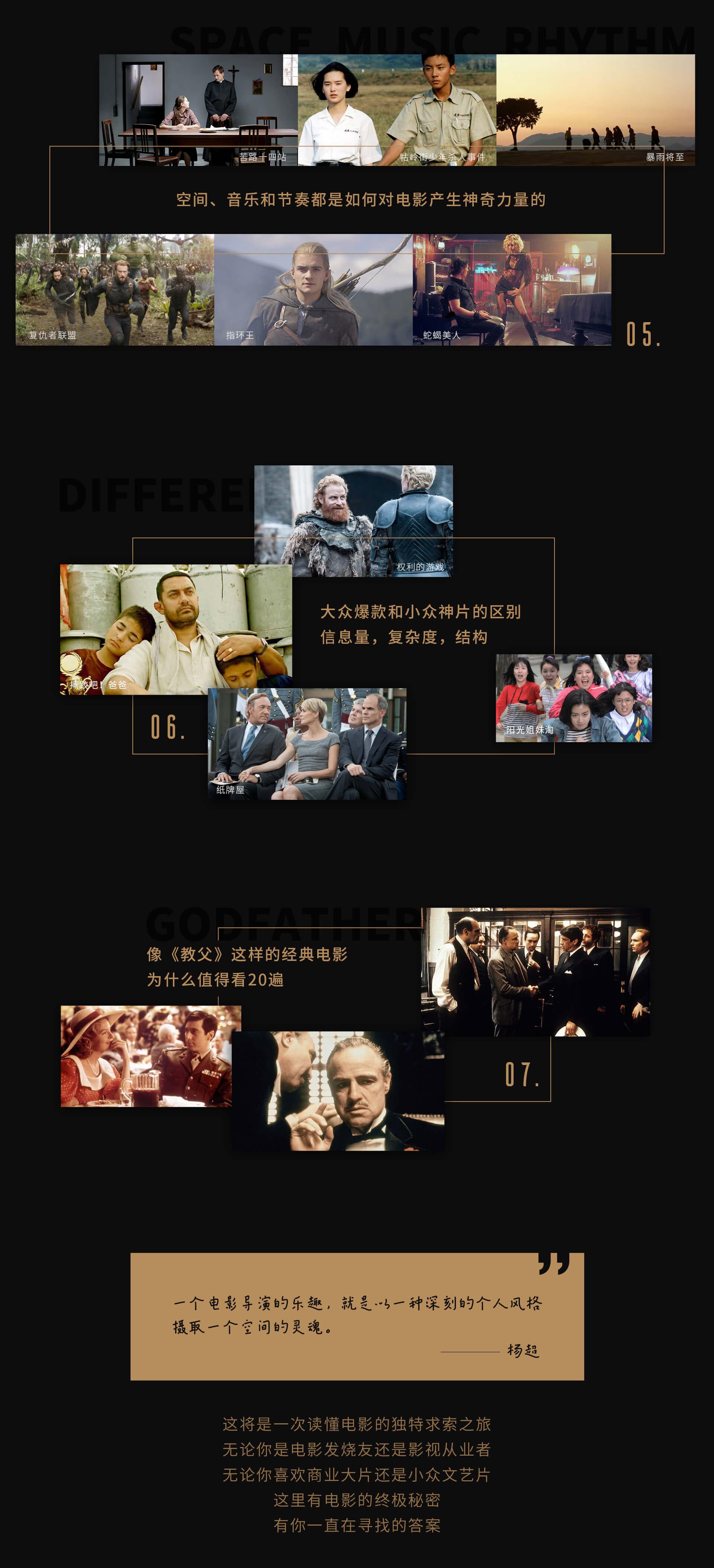 《【电影教材】杨超教你用导演思维看电影,十大专题破解电影密码》