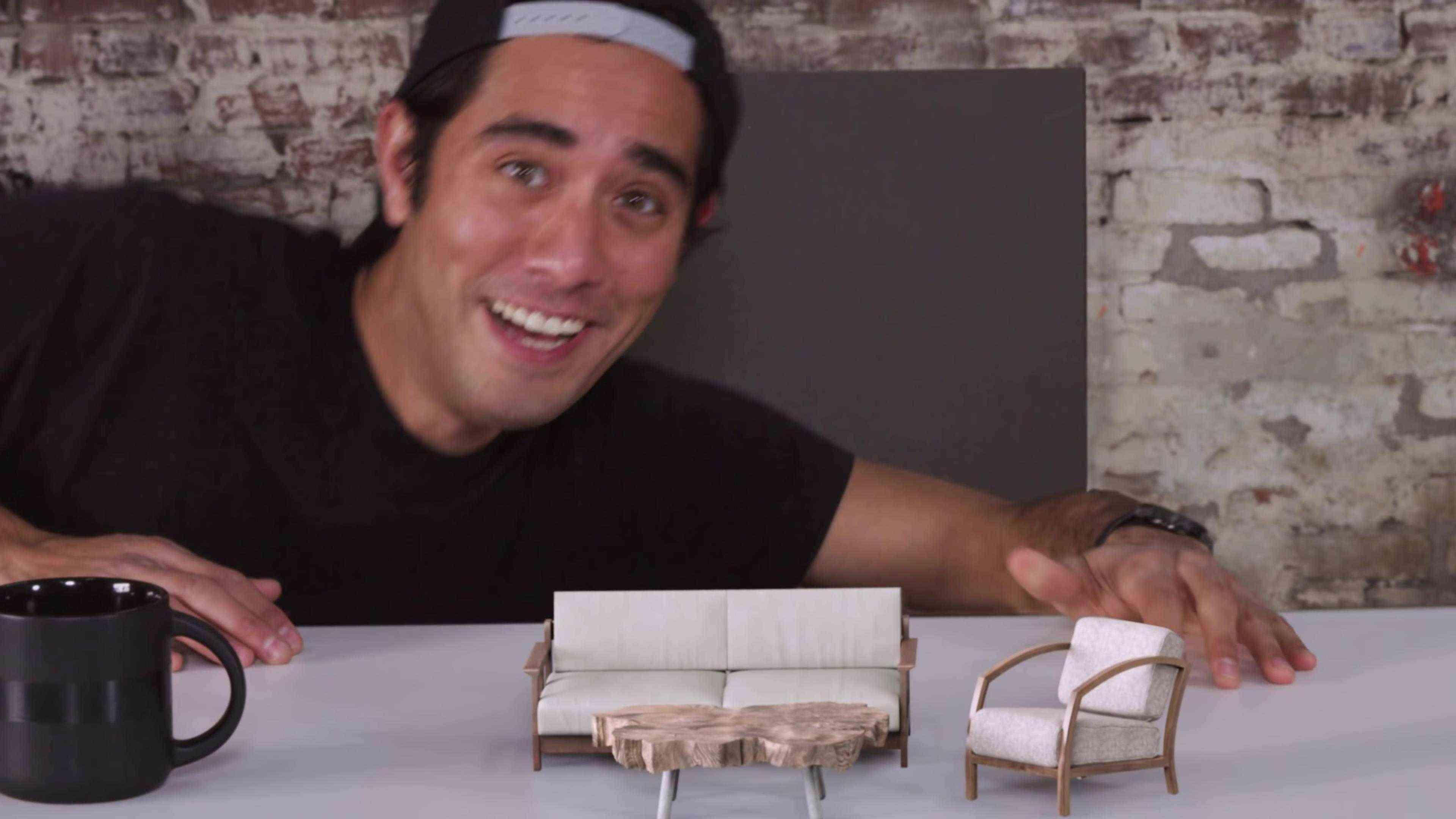 男巫创意魔法秀《家具的幻觉》