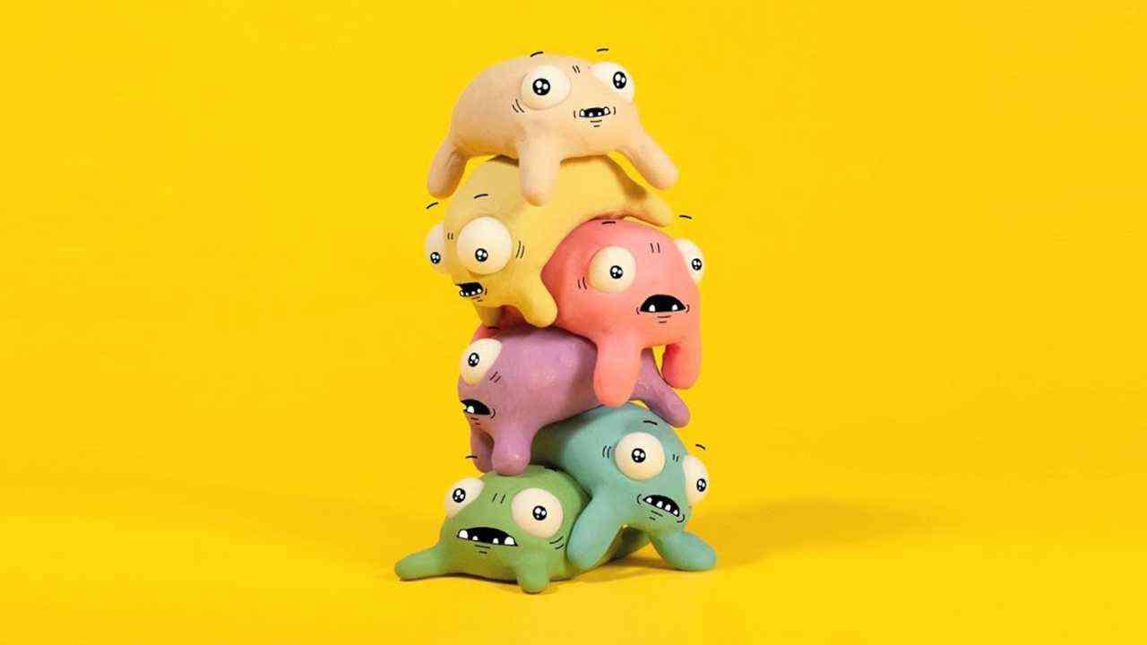 超可爱治愈系黏土创意《奇怪的动物》