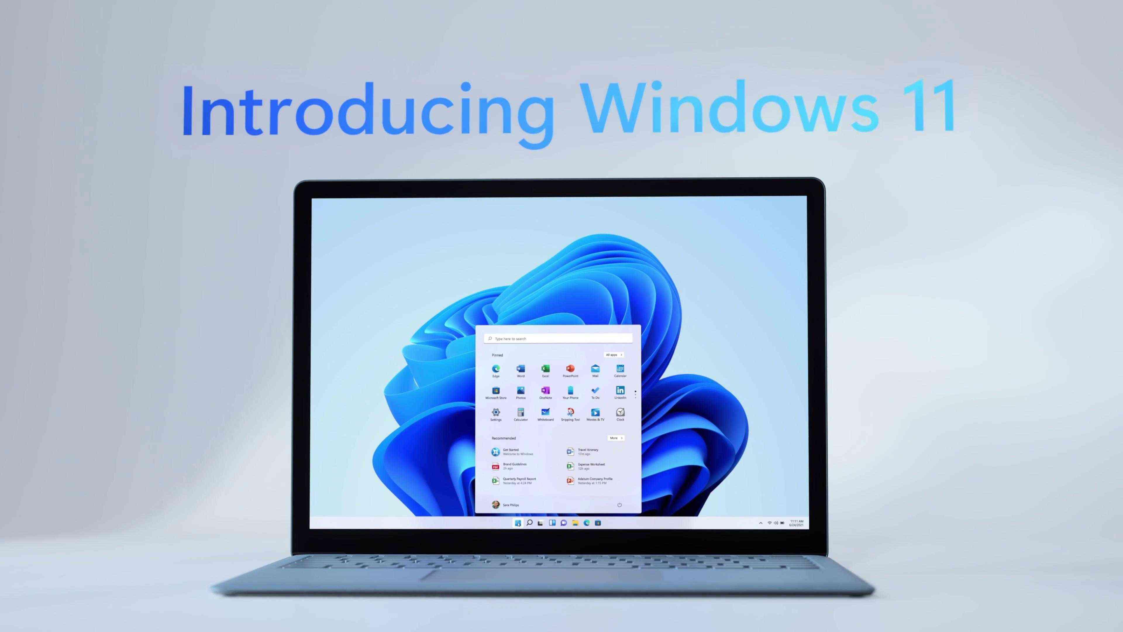 史上最美系统《治愈蓝色Windows 11》