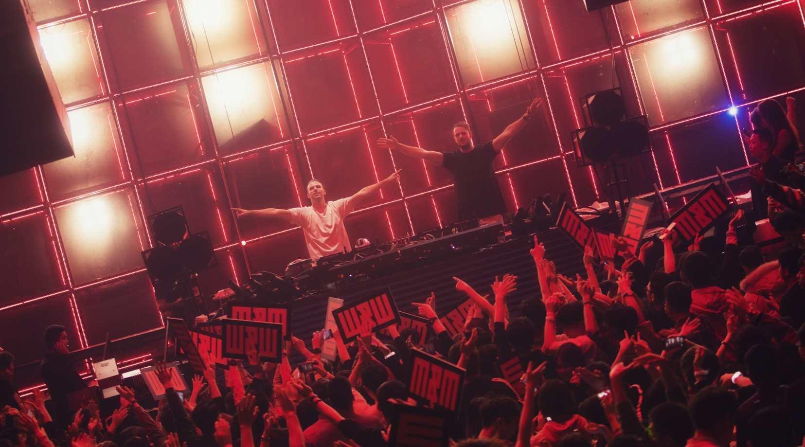 荷兰双王炸 TOP100 DJs #14 DJ W&W @ Dr.Oscar 燃爆电音现场
