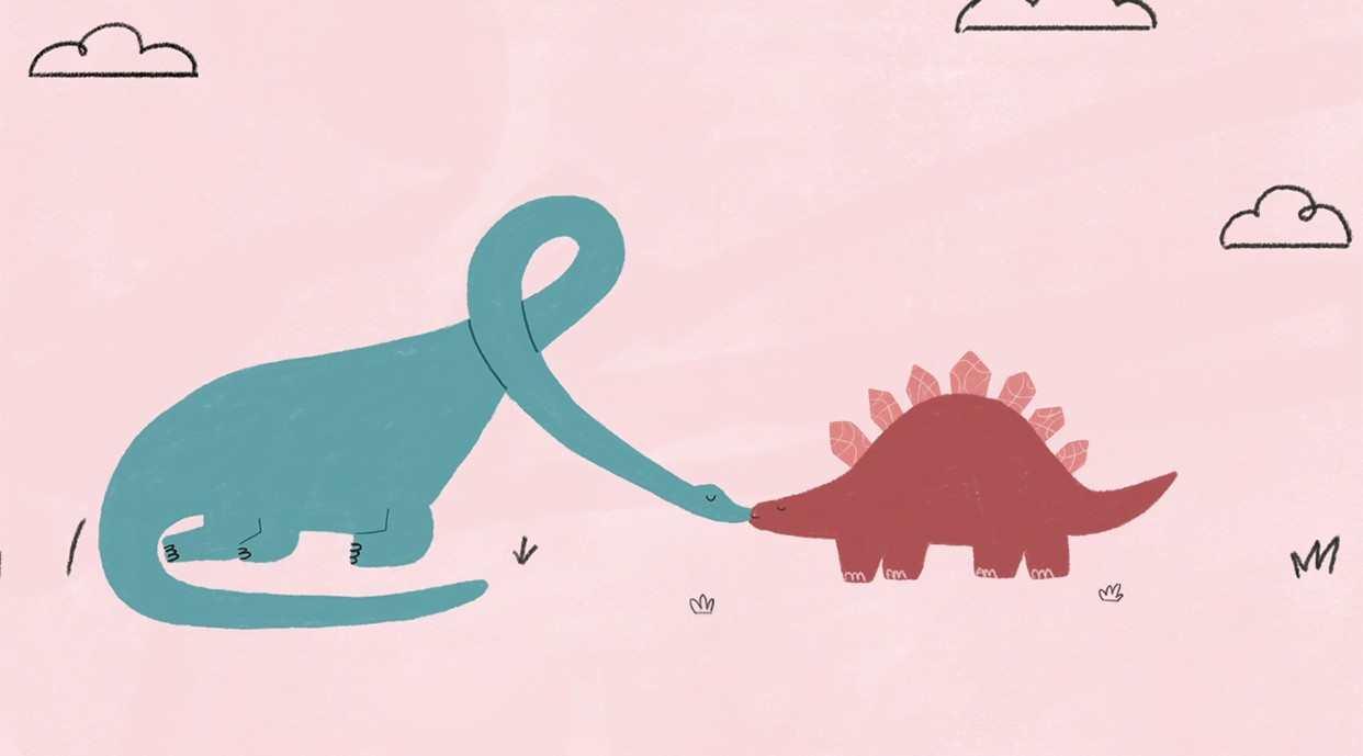 超治愈暖心动画《恐龙,恋爱了》