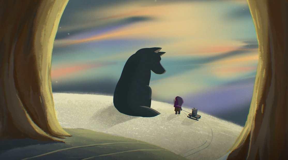 战斗民族治愈动画《小红帽的大灰狼》