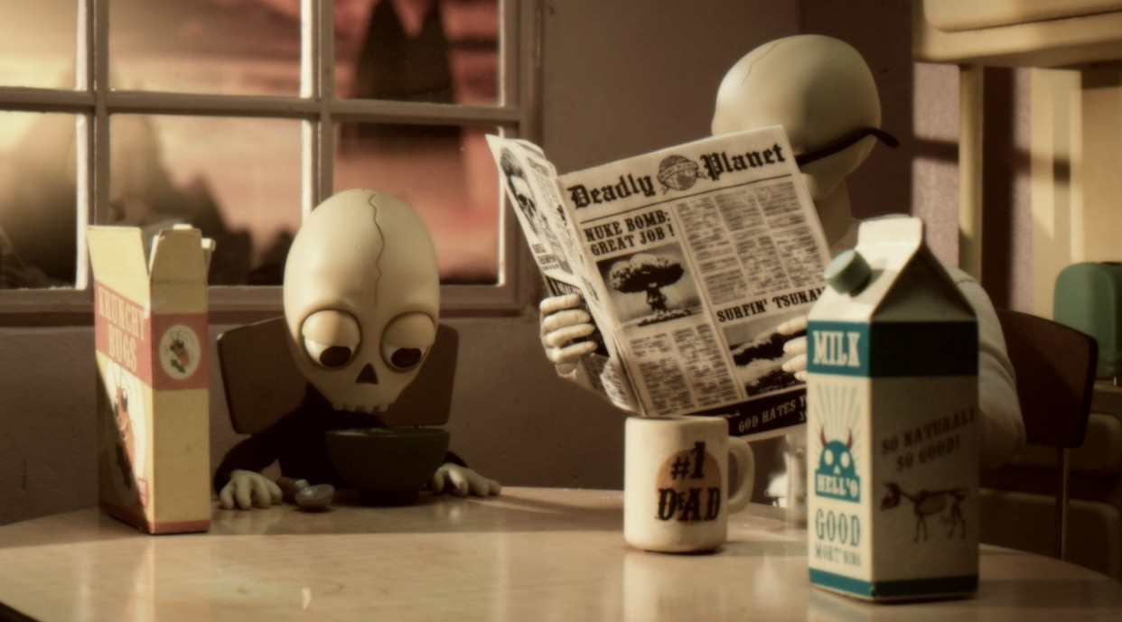 限制级治愈动画《我的爸爸是死神》