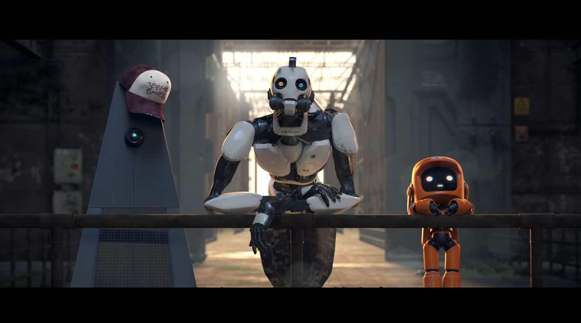 《爱,死亡和机器人》混剪:视觉盛宴,思想荒原